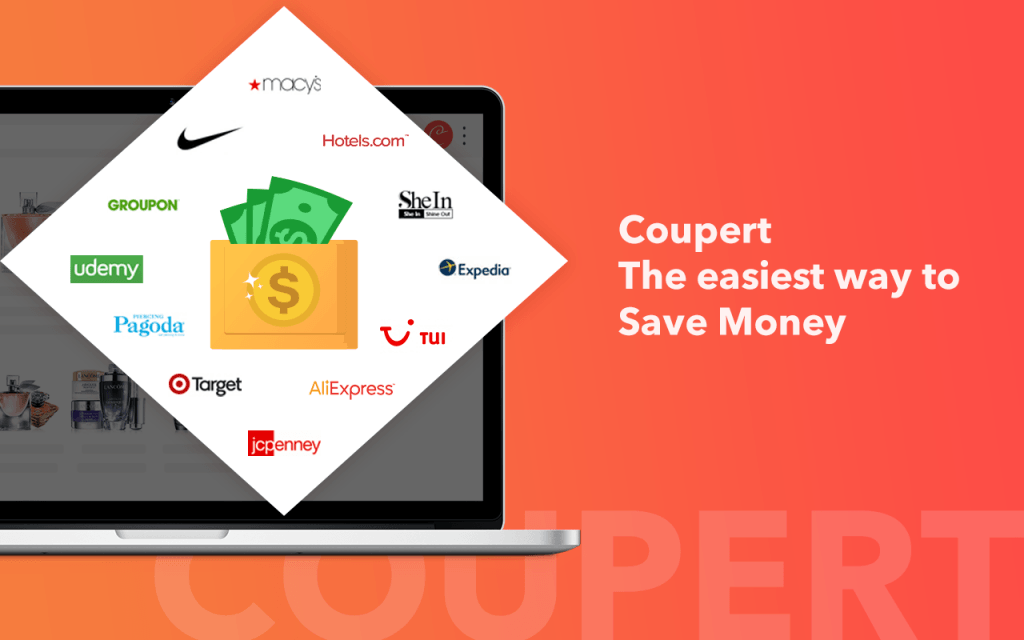 Coupert the easiest way to save money