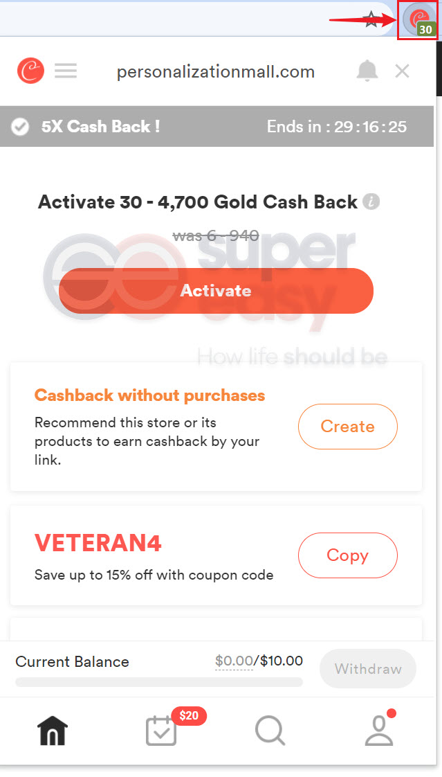 Coupons for Personalization Mall found by Coupert