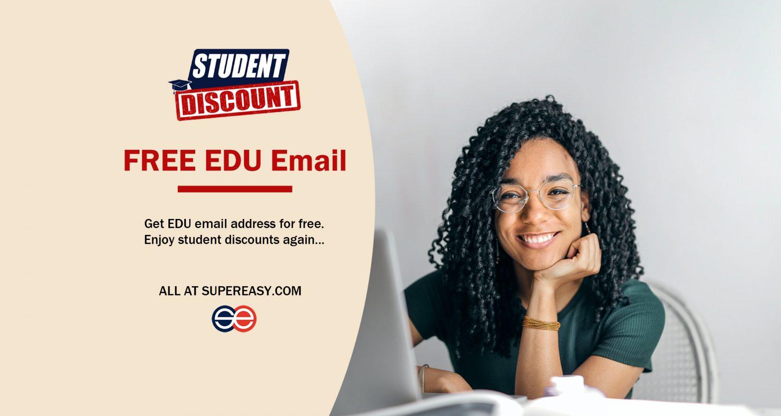 edu email student discounts