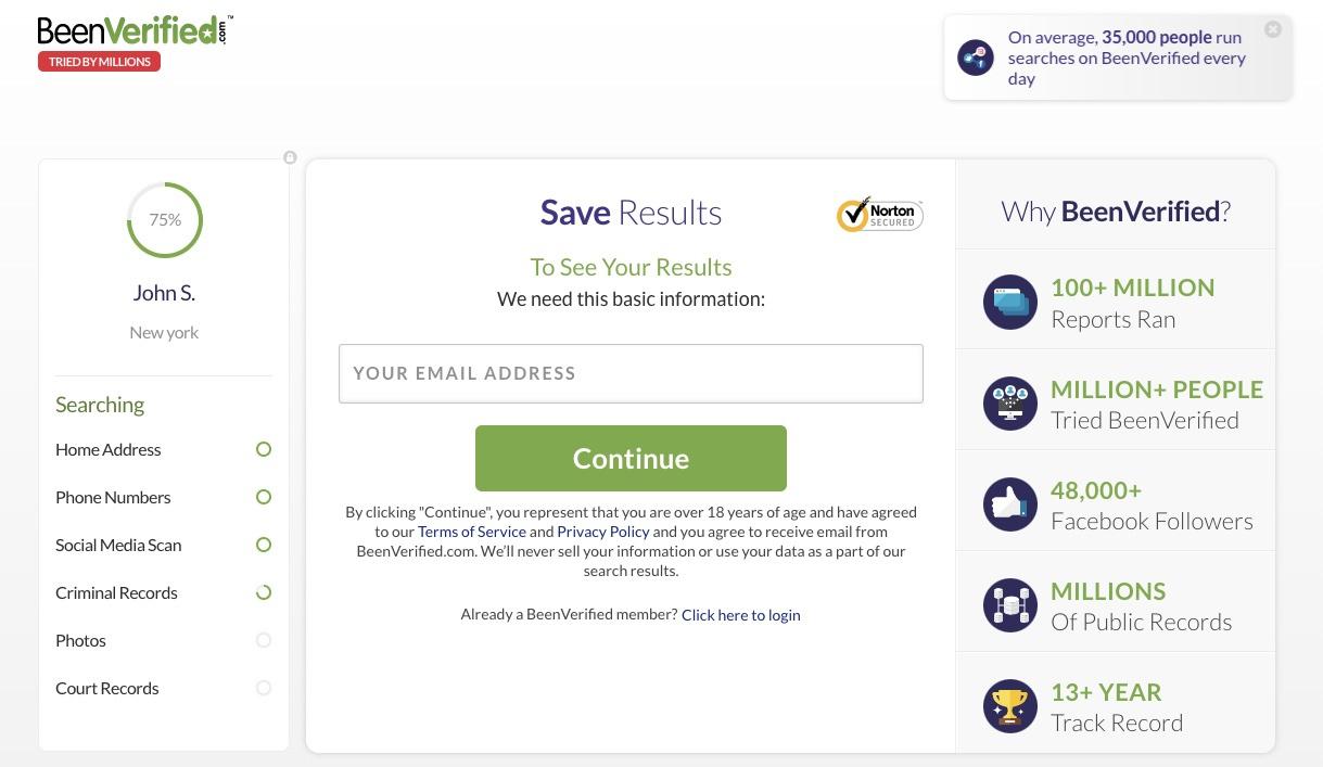 enter email adddress